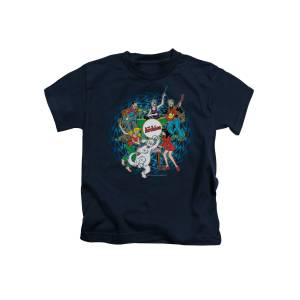 Archie Comics Psychadelic Archies Youth T-shirt