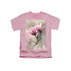 Pink Magnolia Flower Kids T Shirt For Sale By Jaroslaw Blaminsky