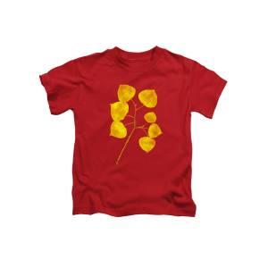 Hawthorn Pressed Leaf Art Kids T-Shirt for Sale by Christina