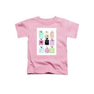 f6b876284a3c4c Chanel Perfume Bag With Pink Hydrangea 2 Toddler T-Shirt for Sale by ...