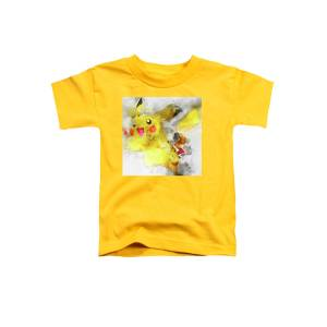 b6cf6fd7 Pokemon Pikachu Abstract Portrait - By Diana Van Toddler T-Shirt for Sale  by Diana