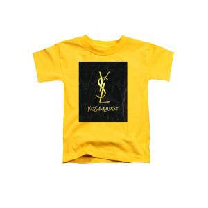e0ed883e Yves Saint Laurent - Ysl - Black And Gold - Lifestyle And Fashion Toddler T-