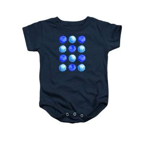 e1c82d3d3 Winter Blue Watercolor Large Dots Pattern Onesie for Sale by Boriana  Giormova