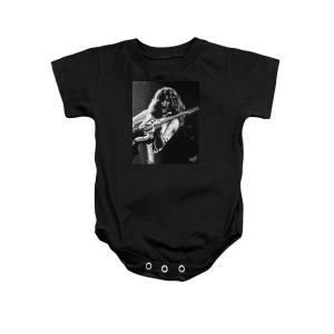 208a95eb5 Eddie Van Halen - Black And White Onesie for Sale by Tom Carlton