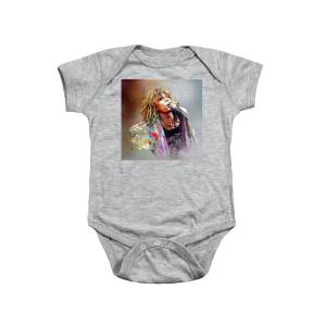 d6d1b7d92 Jimmy Page And Robert Plant Led Zeppelin Onesie for Sale by Miki De ...