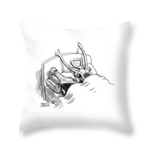 A Wine Opener And A Bottle Lay In Bed Like Throw Pillow for Sale by Shannon c371cf647