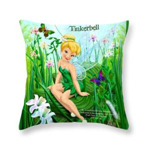 Tinkerbell 2 Throw Pillow For Sale By Sharon Artsieladie Donnelly