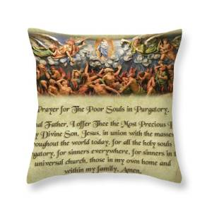Christ Candle Of Hope Prayer Throw Pillow For Sale By Samuel Epperly
