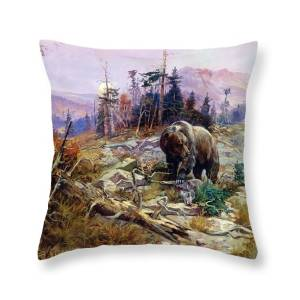 American Black Bear Throw Pillow For Sale By John James Audubon 18 X 18