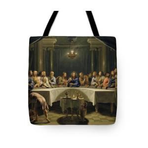The Last Supper Tote Bag for Sale by Leonardo Da Vinci