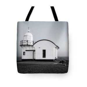 Nobbys Head Lighthouse Tote Bag for Sale by Catherine Reading