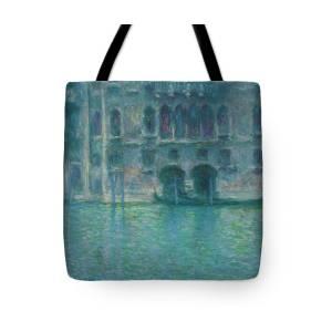Palazzo by Claude Monet Laptop Messenger Bag