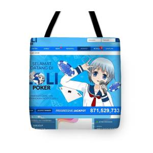 Lolipoker Situs Poker Online Bank Mandiri 24 Jam Indonesia Tote Bag For Sale By Loli Poker