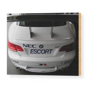 BMW M3 Car Spoiler CANVAS WALL ART DECO LARGE READY TO HANG all sizes