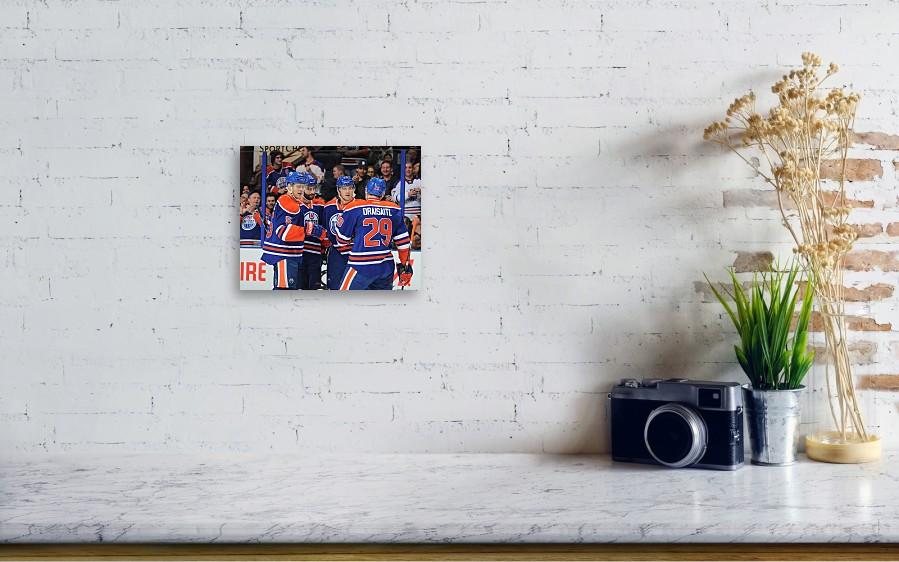 4b1f4f07bd3 New Jersey Devils V Edmonton Oilers Canvas Print / Canvas Art by ...