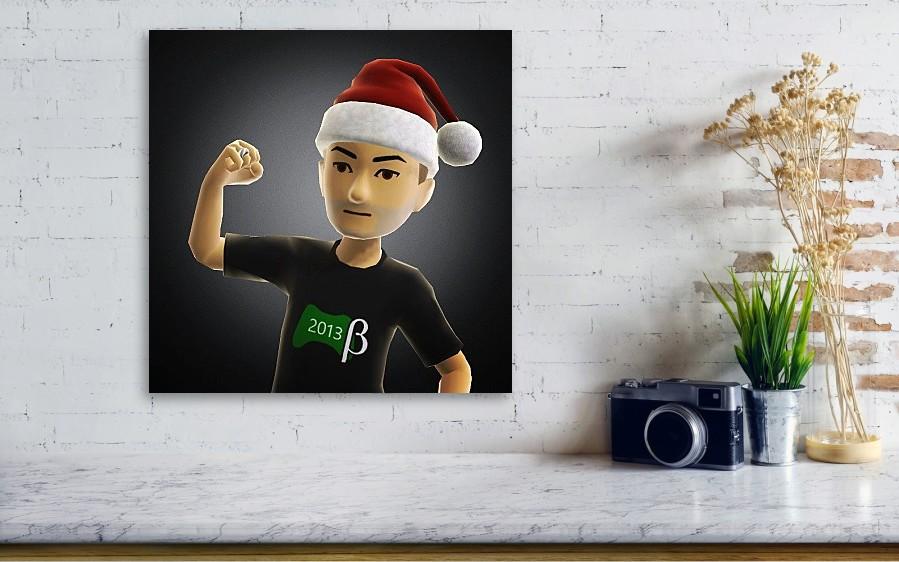 My New Xbox One Avatar Gamerpic Canvas Print Canvas Art By Dan Slade