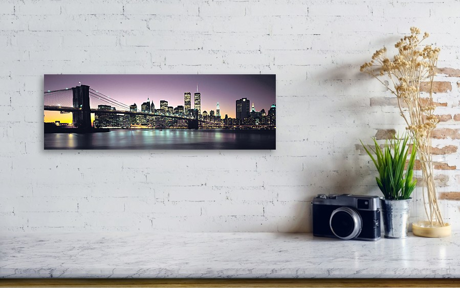 New York City Skyline Canvas Print / Canvas Art by Jon Neidert