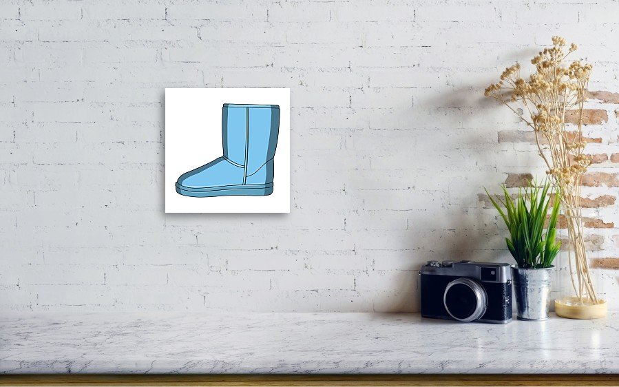 5010f2117e Warm Winter Blue Ugg Boots. Comfortable Winter Shoes For Everyday Wear  .different Shoes Single Icon In Cartoon Style Vector Symbol Stock  Illustration. ...