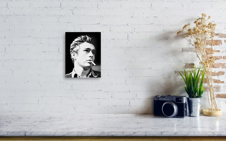 James Dean Canvas Print / Canvas Art by Roly O