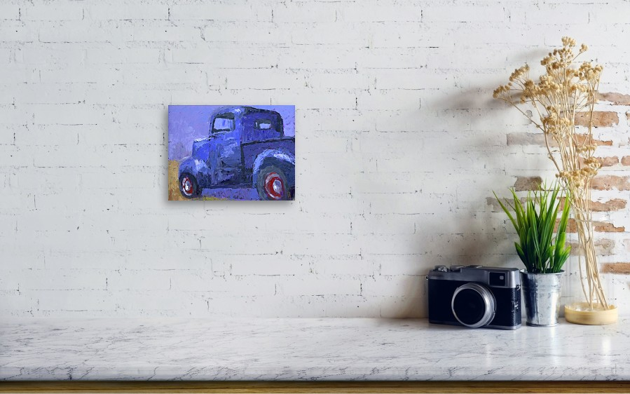 Blue 1940 Ford Pickup Canvas Print / Canvas Art by David King