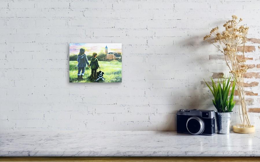 Clemson Kids Big Sister Little Brother Canvas Print / Canvas Art by ...