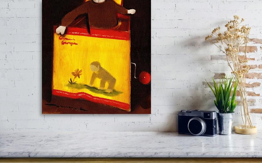Curious George Still Life Art Print Canvas Print / Canvas Art by ...
