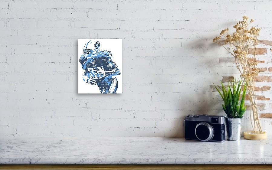 a88211e8 Derrick Henry Tennessee Titans Pixel Art 10 Canvas Print