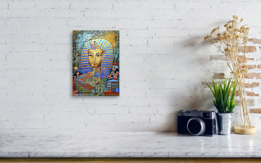 King Tut Canvas Print / Canvas Art by Michael Durst
