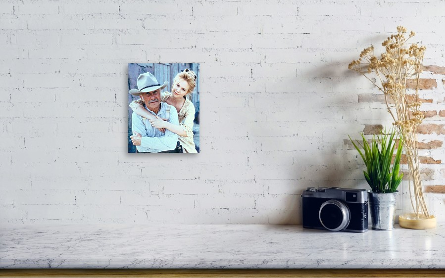 318c9668758e5 ... Canvas Print featuring the photograph Lonesome Dove Gus And Lori by Peter  Nowell. Wall View 001