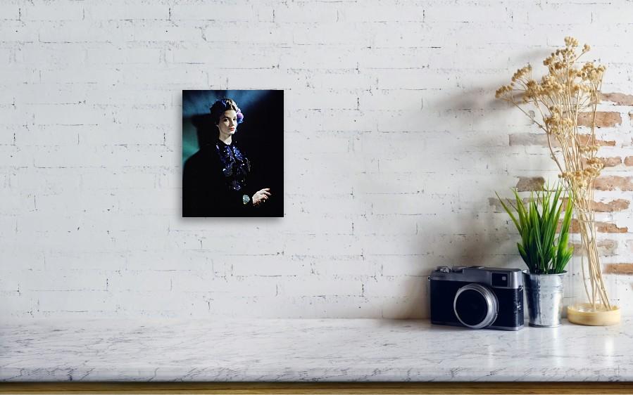 Model In A Salon Moderne Ensemble Canvas Print