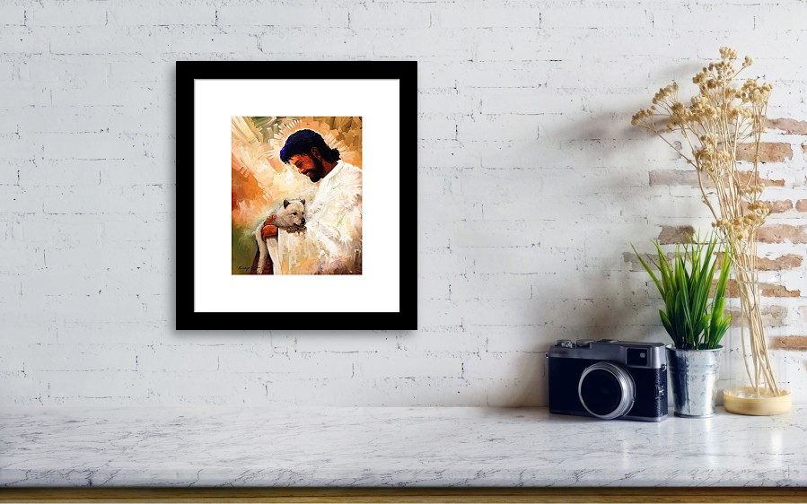 All Dogs Go To Heaven Framed Print By Kanayo Ede