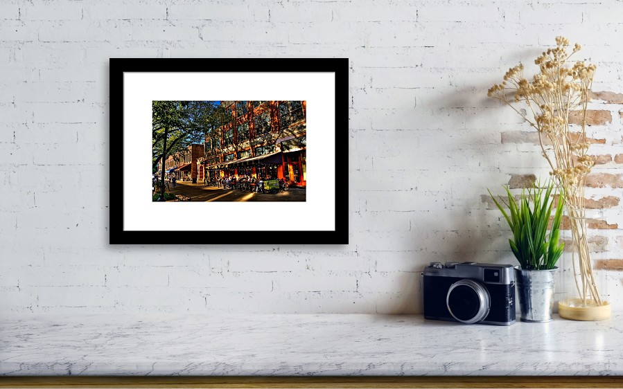 Four Market Square - Knoxville Tennessee Framed Print by David Patterson