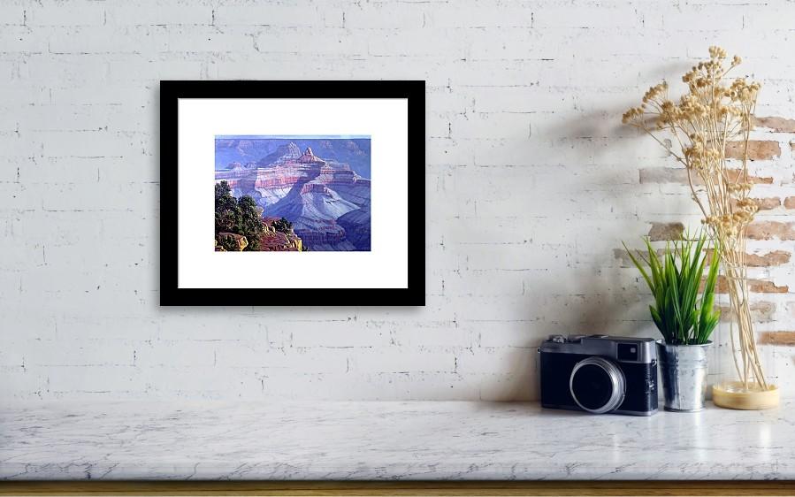 Grand Canyon Framed Print By Randy Follis