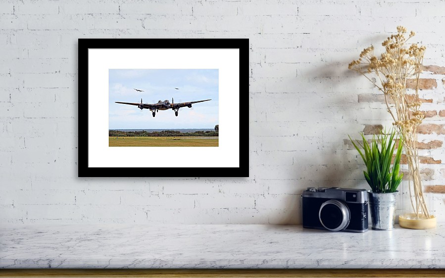 Lancaster - Safe Home Framed Print