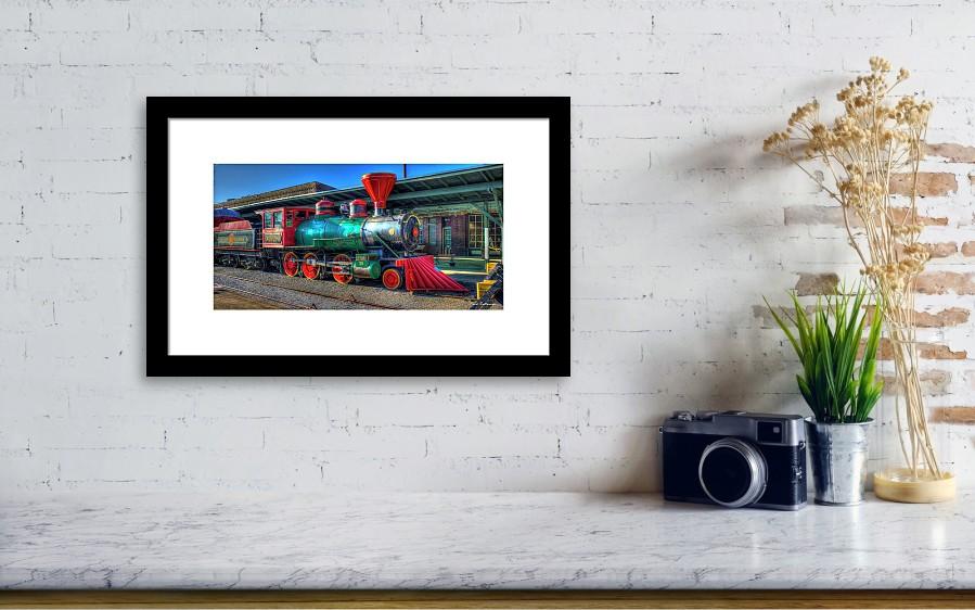 The Connection Cincinnati Southern Chattanooga Choo Choo Train Art ...