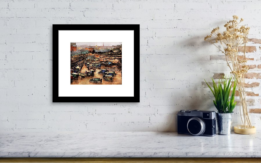 City - Boston Ma - The Great Molasses Flood 1919 Framed Print by ...