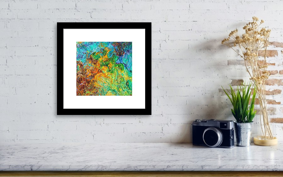 Journey Through Autism Framed Print