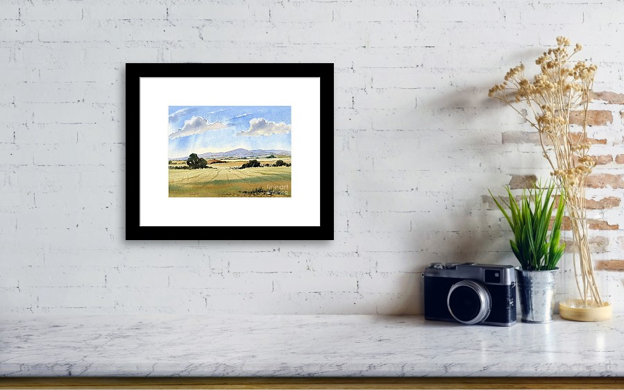 Malvern Hills Framed Print by Anthony Forster