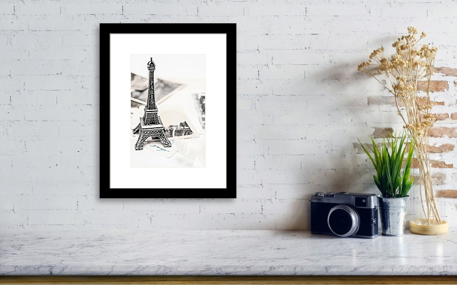 Postcards And Letters From Paris Framed Print by Jorgo Photography ...