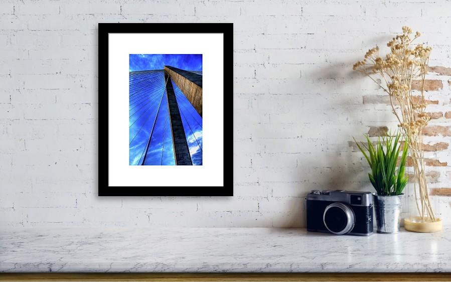 Ravenel Sky Framed Print by Drew Castelhano