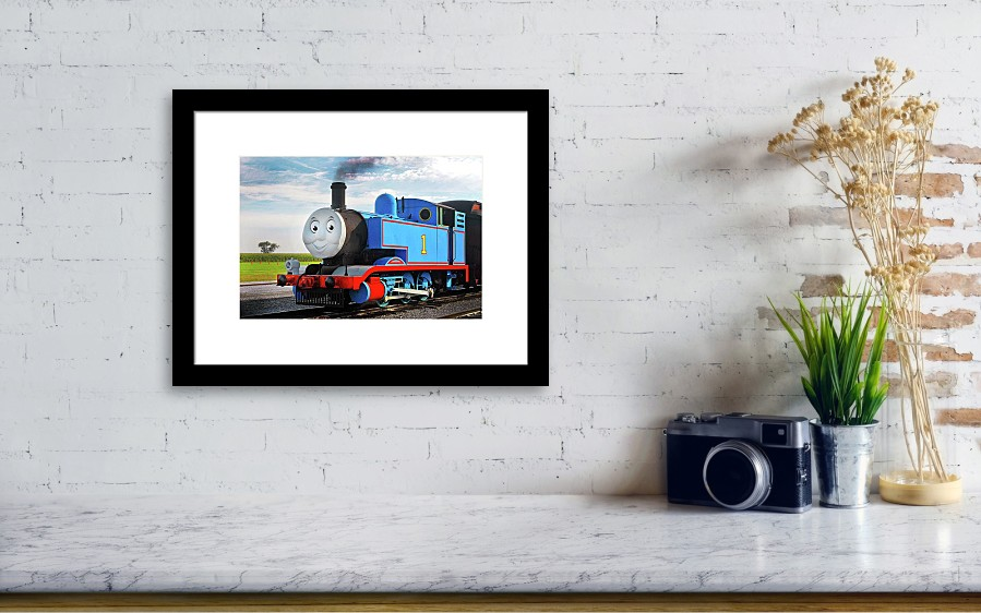 Thomas The Train Framed Print by Paul W Faust - Impressions of Light