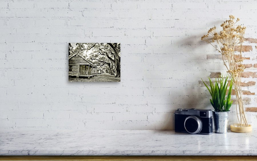 Nice Evergreen Plantation Framed Print Embellishment - Frames Ideas ...