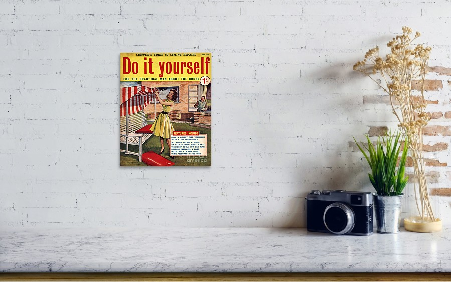 Do it yourself 1959 1950s uk magazines poster by the advertising do it yourself 1959 1950s uk magazines by the advertising archives wall view 001 solutioingenieria Images