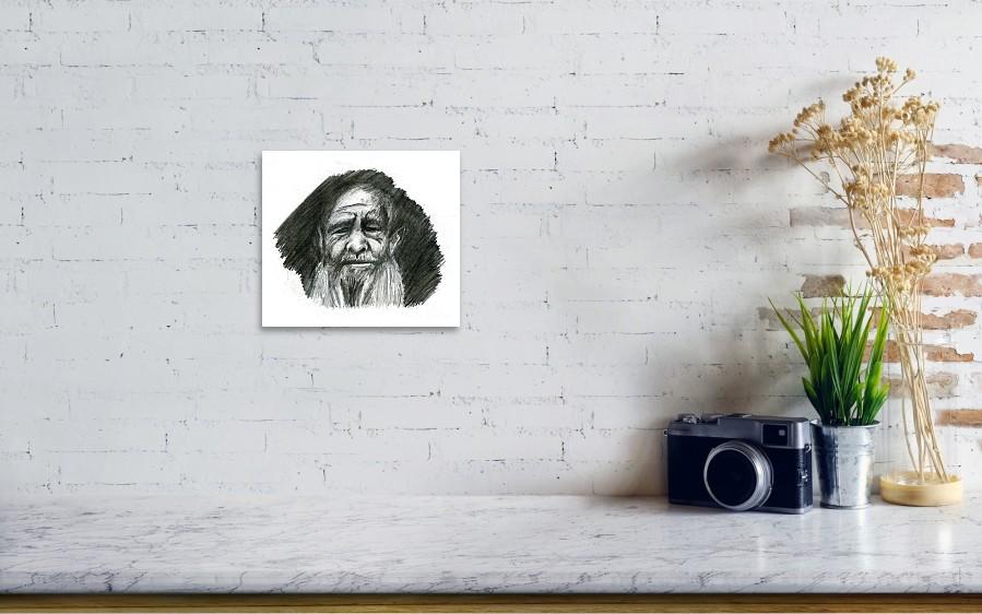 Elderly Man Art Print by Austin Kincaid