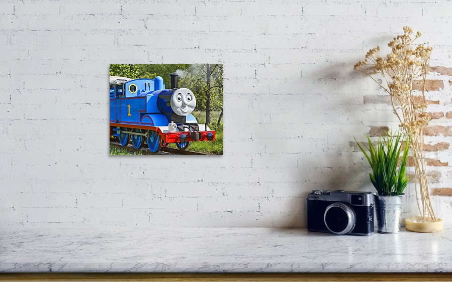 Here Comes Thomas The Train Poster by Dale Kincaid