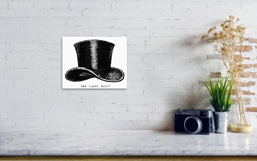 ... photograph John Bull Hat by Granger. Wall View 001 3d9d64e5f61d