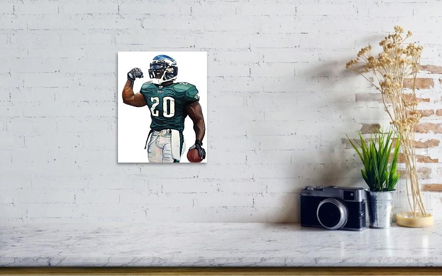 ... Brian Dawkins - Philadelphia Eagles by Michael Pattison. Wall View 001 fc03af1e6