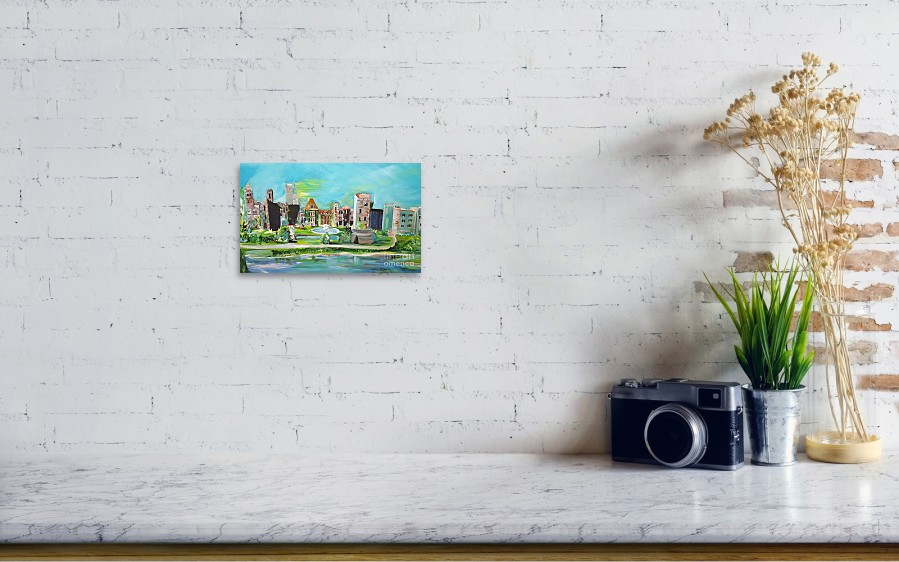 eb6eb615f5 ... featuring the painting Spellbound Bv Ashford Castle by Jill Morris.  Wall View 001