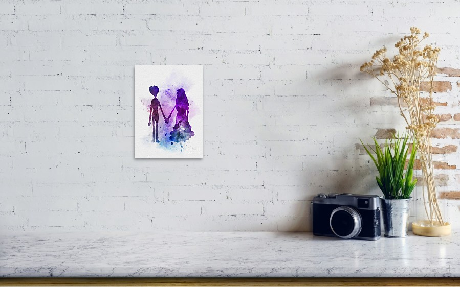 1ca17e97a93 Victor And Emily Art Print