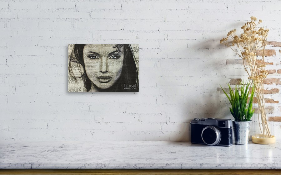 1b8a1bd82d31 ... drawing Art In The News 44- Angelina Jolie by Michael. Wall View 001